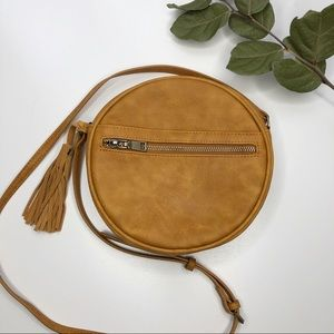 Antik Kraft Round Crossbody Bag